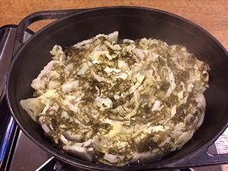 白菜と豚バラのミルフィーユ